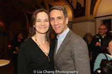 Enid Graham and her husband Robert Sella. Photo by Lia Chang