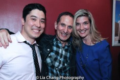 James Yaegashi, Alan M. Brown and Tami Schuch-Yaegashi. Photo by Lia Chang