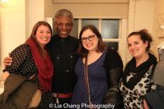 Jenn Piscitelli, André De Shields, Molly Paige and Rachel Simone. Photo by Lia Chang