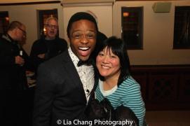 John-Michael Lyles and Ann Harada. Photo by Lia Chang