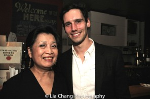 Mia Katigbak and Cory Michael Smith. Photo by Lia Chang