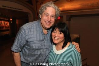 Tom Alan Robbins and Ann Harada. Photo by Lia Chang