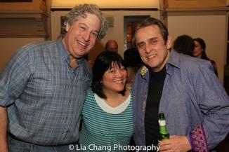 Tom Alan Robbins, Ann Harada and Michael Medeiros. Photo by Lia Chang