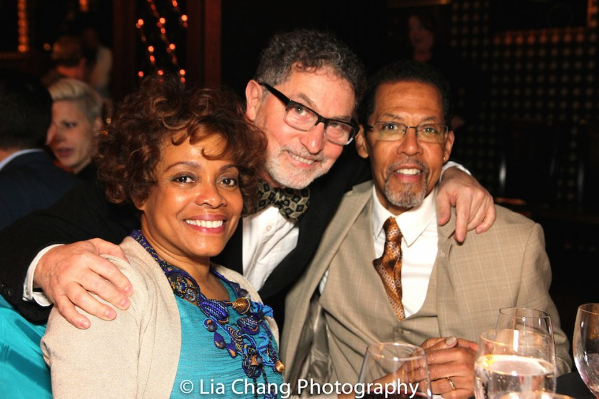 The 52nd Street Project's annual gala LAUGHING MATTERS (l to r): Denise Burse Fernandez, Project Founder Willie Reale and Peter Jay Fernandez. Photo by Lia Chang