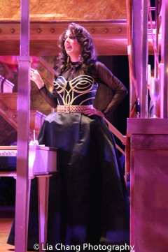 Rick Hammerly (Widow) during the intermezzo. Photo by Lia Chang