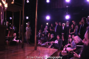 Audience members during the intermezzo. Photo by Lia Chang