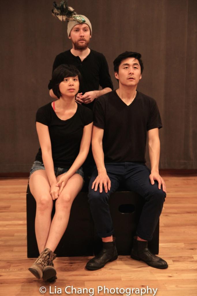 Shan Y Chuang, Paul David Miller, Qihao Huang. Photo by Lia Chang
