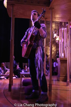 Drew Foster as Biondello during the intermezzo. Photo by Lia Chang