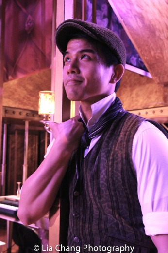 Telly Leung as Lucentio during the intermezzo. Photo by Lia Chang