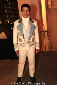 STC's THE TAMING OF THE SHREW postshow: Telly Leung as Lucentio. Photo by Lia Chang