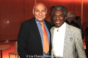 STC's Artistic Director Michael Kahn and André De Shields. Photo by Lia Chang