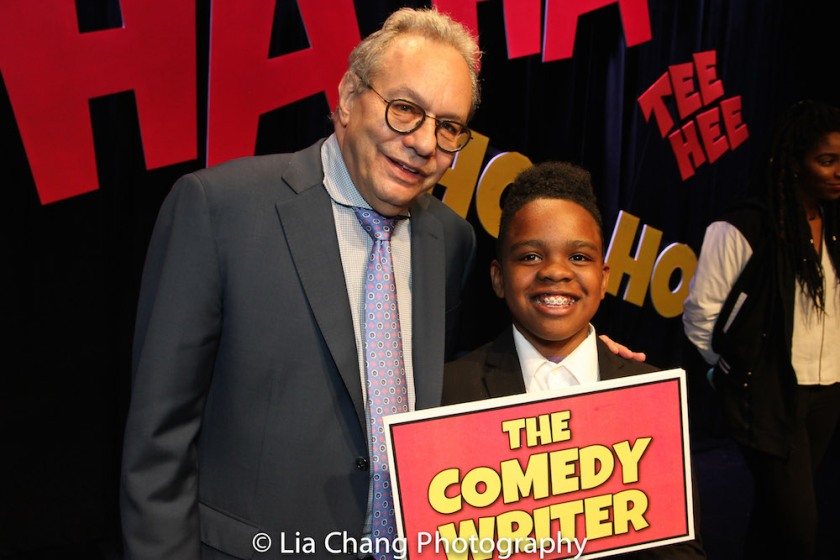 Lewis Black performed the stand-up comedy written by Project member Coleman Williams, age 11. Photo by Lia Chang