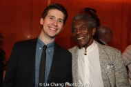 James Crichton and André De Shields. Photo by Lia Chang
