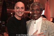 Rick Hammerly and André De Shields. Photo by Lia Chang