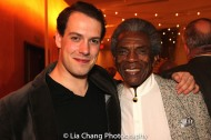 Jackson Knight Pierce and André De Shields. Photo by Lia Chang