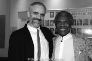 Gregory Linington and André De Shields. Photo by Lia Chang