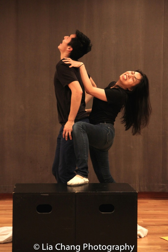 Qihao Huang, Esther Chen. Photo by Lia Chang