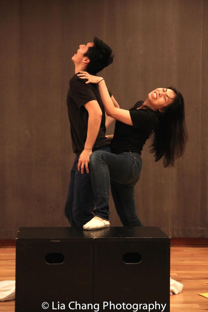 Qihao Huang, Esther Chen. Photo by Lia Chang