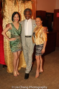 Lia Chang, André De Shields and Vivian Thurman.