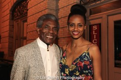 André De Shields and Lakisha May. Photo by Lia Chang