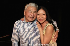 Alvin Ing and Lainie Sakakura. Photo by Lia Chang