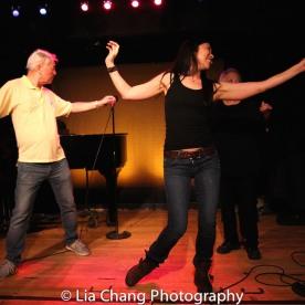 Alvin Ing, director Lainie Sakakura and Virginia Wing. Photo by Lia Chang