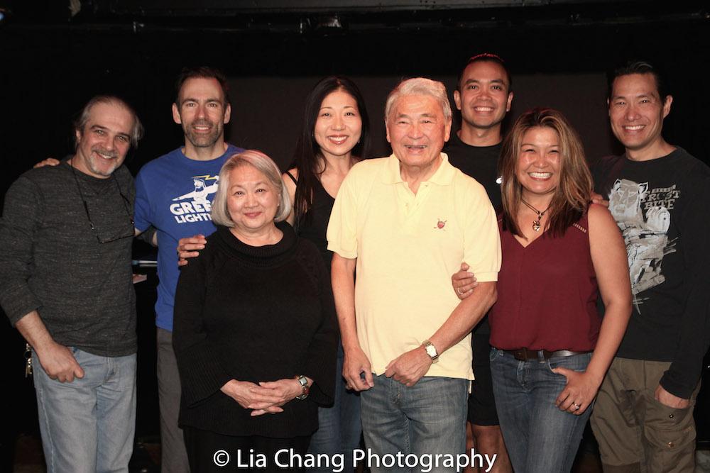 Armando Bravi, Thomas Conroy, Virginia Wing, Lainie Sakakura, Alvin Ing, Jose Llana, Hazel Anne Raymundo and Darren Lee. Photo by Lia Chang