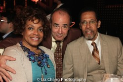 Denise Burse, Bruce MacVittie and Peter Jay Fernandez. Photo by Lia Chang