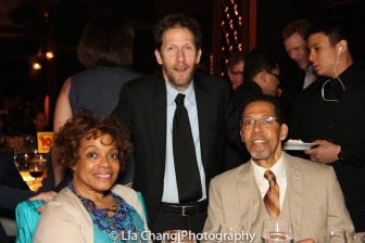 Denise Burse, Tim Blake Nelson and Peter Jay Fernandez. Photo by Lia Chang