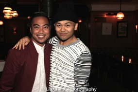 Enrico Rodriguez and Jeigh Madjus. Photo by Lia Chang