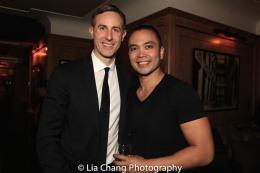 Eric Rose and Jose Llana. Photo by Lia Chang