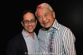Garth Kravits and Alvin Ing. Photo by Lia Chang