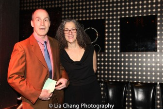 The 52nd Street Project's Artistic Director Gus Rogerson and Executive Director Carol Ochs. Photo by Lia Chang