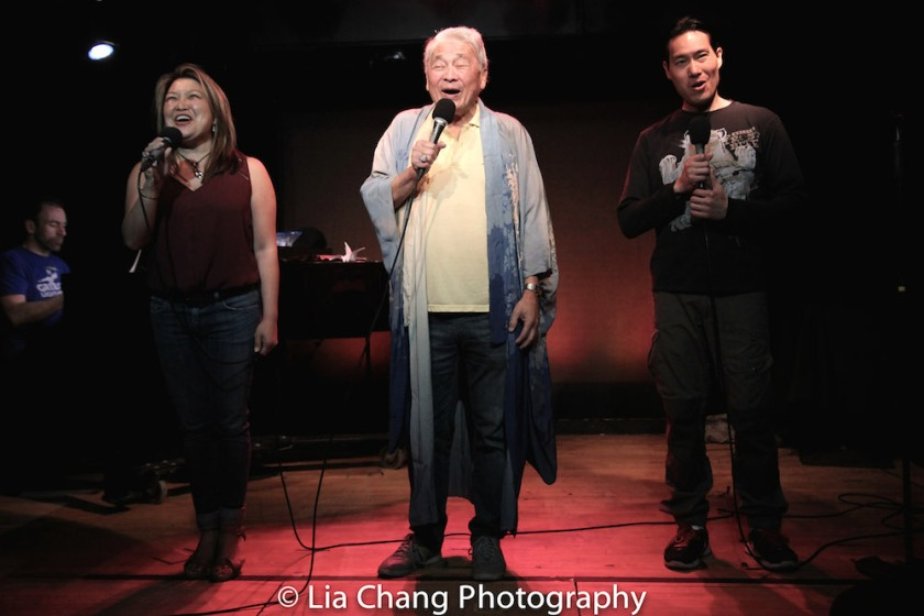 Hazel Anne Raymundo, Alvin Ing and Darren Lee. Photo by Lia Chang