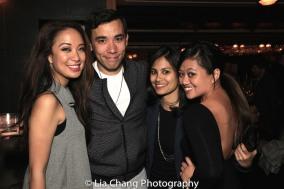 Jaygee Macapugay, Conrad Ricamora, Debralee Daco and Renee Abulario. Photo by Lia Chang