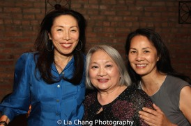 Jodi Long, Virginia Wing and Karen Tsen Lee. Photo by Lia Chang