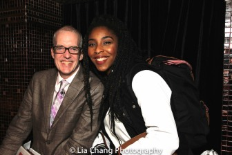 John Sheehy and Jessica Williams. Photo by Lia Chang