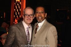 John Sheehy and Peter Jay Fernandez. Photo by Lia Chang