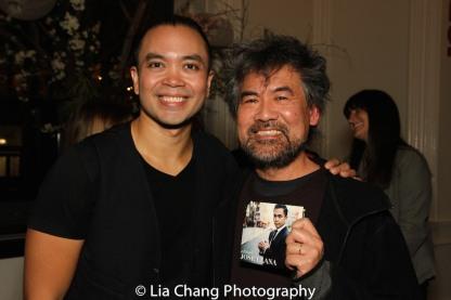 Jose Llana and David Henry Hwang. Photo by Lia Chang