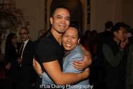 Jose Llana and Jhett Tolentino. Photo by Lia Chang