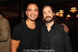 Jose Llana and Kevin Garcia. Photo by Lia Chang