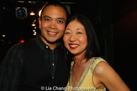 Jose Llana and Lainie Sakakura. photo by Lia Chang
