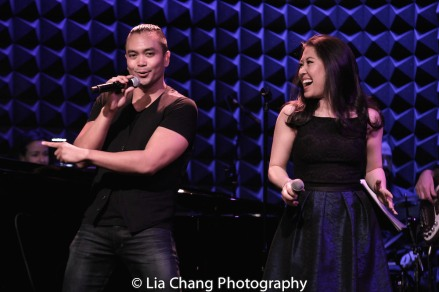 Jose Llana and Ruthie Ann Miles. Photo by Lia Chang