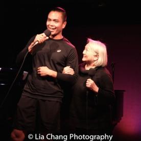 Jose Llana and Virginia Wing. Photo by Lia Chang