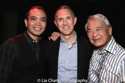 Jose Llana, Bobby Longbottom and Alvin Ing. Photo by Lia Chang