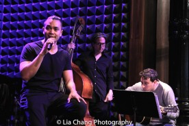 Jose Llana, Kevin Garcia, Pete Donovan and Simon Kafka. Photo by Lia Chang