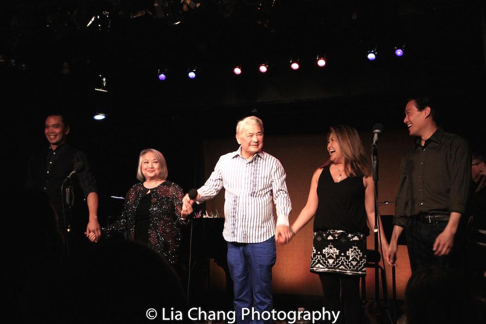 Jose Llana, Virginia Wing, Alvin Ing, Hazel Anne Raymundo and Darren Lee. Photo by Lia Chang