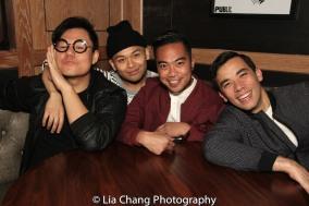 Kelvin Moon Loh, Jeigh Madjus, Enrico Rodriguez and Conrad Ricamora. Photo by Lia Chang