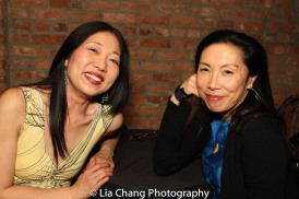 Lainie Sakakura and Jodi Long. Photo by Lia Chang