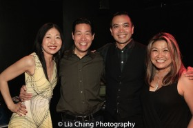 Lainie Sakakura, Darren Lee, Jose Llana and Hazel Anne Raymundo. Photo by Lia Chang